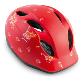 MET Superbuddy Helmet Barn red animals
